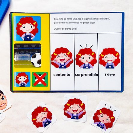 Juego de emociones para niños, inferencias y teoría de la mente 2